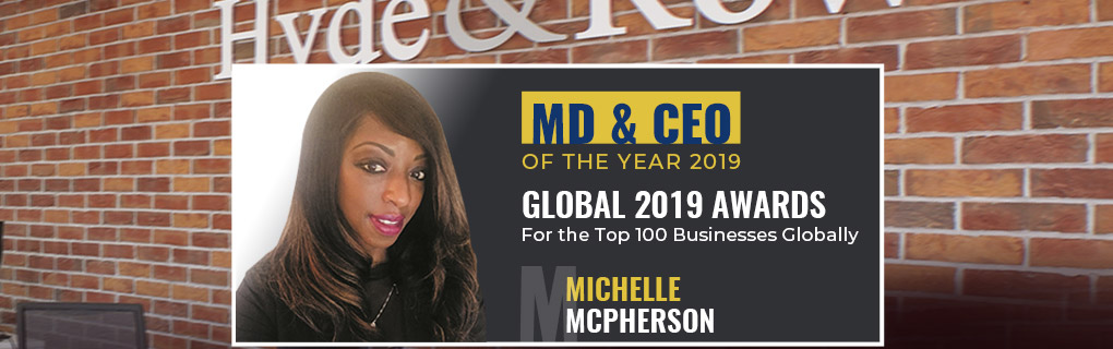 Michelle Mcpherson - MD & CEO of the Year 2019